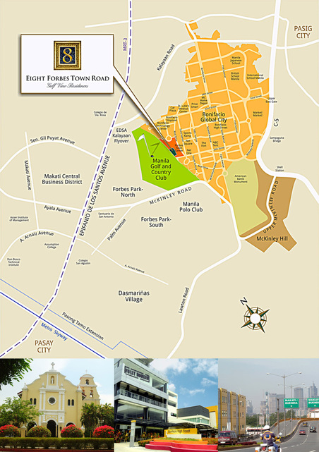 Megaworld Fort Bonifacio Map