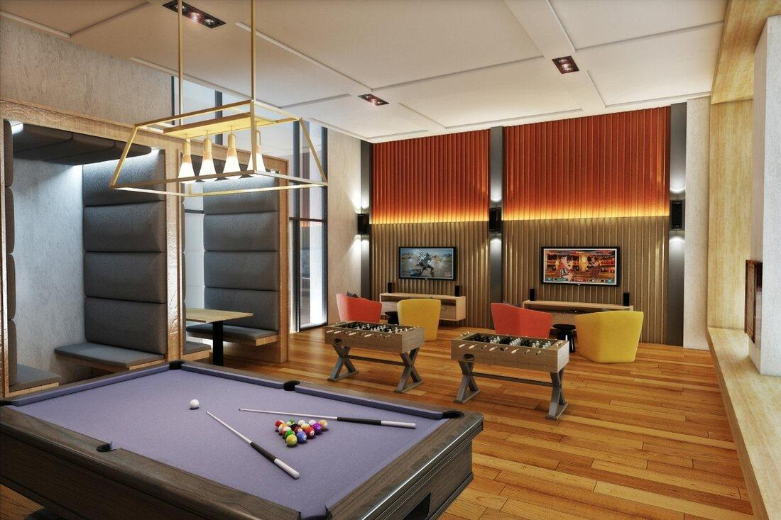park mckinley west game room amenity