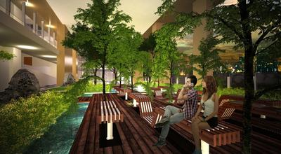 Park Mckinley West, Fort Bonifacio Amenity - Seating Alcove