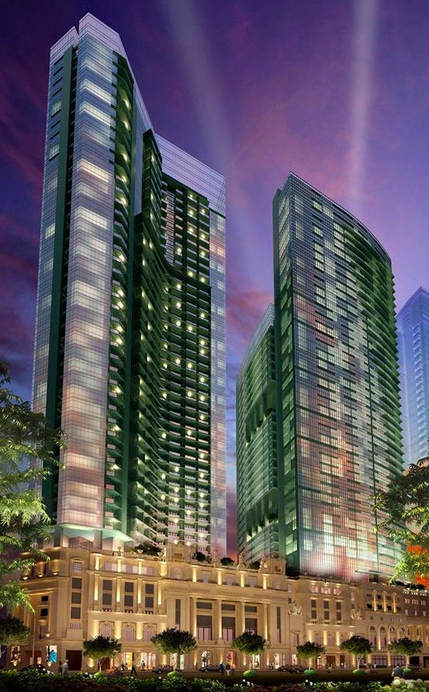 One Uptown Parksuites Condo for sale in Fort Bonifacio Global City by Megaworld Corporation